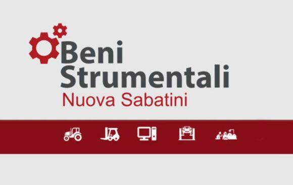 "Beni Strumentali ""Nuova Sabatini"""